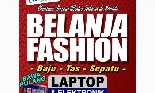 Belanja di Christmas Bazaar itCenter Bisa Bawa Pulang Laptop Tiap Hari