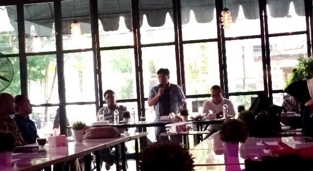 Pembukaan FGD KPU Manado dan media