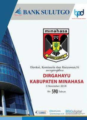 Bank SulutGo Iklan HUT Minahasa 2018