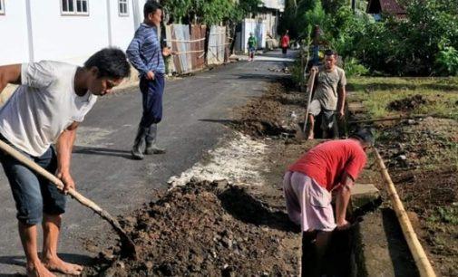 Waspada Cuaca Ekstrim, Kelurahan Bengkol Sapu Bersih Wilayah