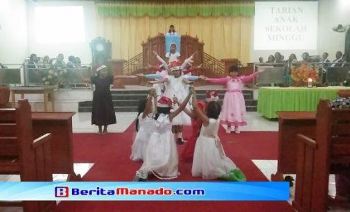 Jemaat GMIM Pniel Sulu Gelar Ibadah Perayaan Natal