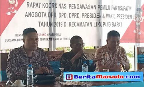 Bawaslu Minut Tuntas Gelar Koordinasi Pengawasan Pemilu Partisipatif di 10 Kecamatan