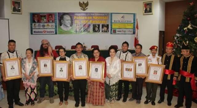 Perayaan 128 Tahun Pahlawan Nasional Sam Ratulangi