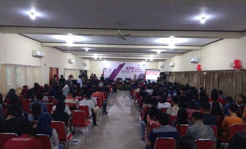 Peserta Membludak! KPU Goes to Campus Hadir di Unsrat