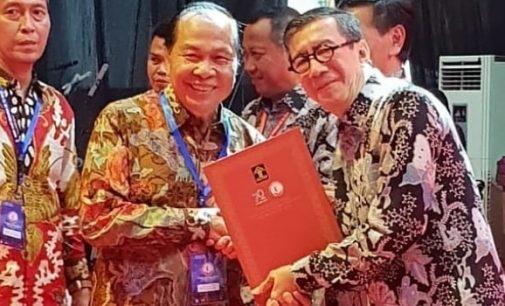 Bitung Terima Piagam Penghargaan Kota Peduli HAM 2018