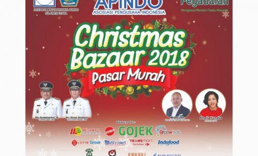 Apindo Christmas Bazaar Dibuka Siang Ini, Catat Informasinya