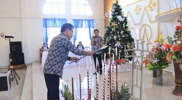 Frans Mawitjere hadir mewakili Walikota Manado