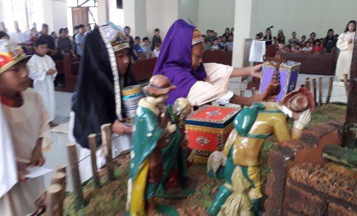 Hari Anak Misioner Sedunia di Langowan Dirayakam Dengan Cara Ini