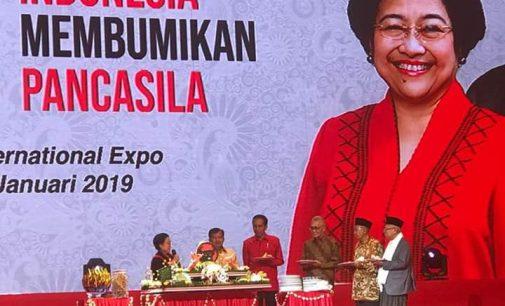 Apresiasi Tinggi Megawati Soekarno Putri kepada Kader Ideologis
