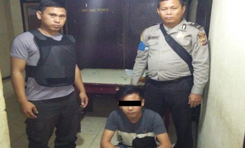 Miris! Ancam Ayahnya Sendiri, Tersangka R Diamankan Polisi