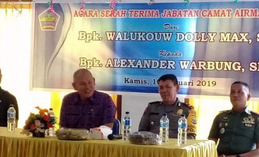 Sertijab, Alexander Warbung Gantikan Dolly Walukow