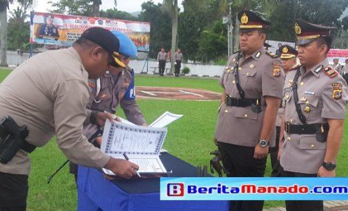 5 Perwira Utama Polres Minut Diganti, Nugroho ke Polda, Maulana ke Talaud
