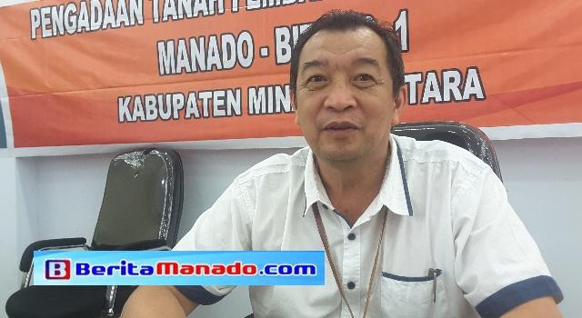 Ketua Panitia Pelaksana Pengadaan Tanah Samsudin Kono.