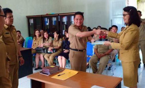 Dari Sertijab Camat Tomohon Tengah, Mandagi: Selamat Bertugas