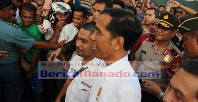 Presiden Jokowi selalu turun langsung melihat kondisi masyarakat