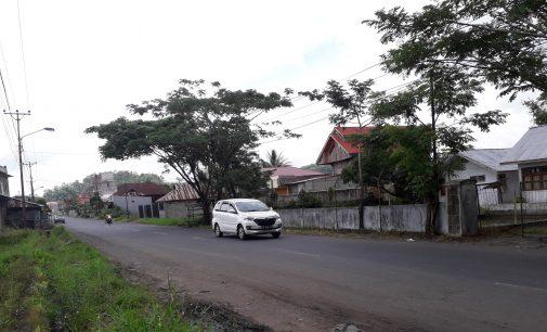 Libur Imlek, Jalan Raya Langowan Sepi