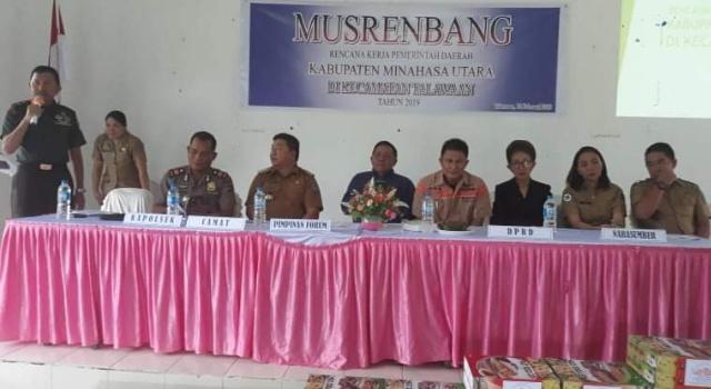 Musrenbang Kecamatan Talawaan.