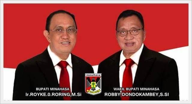 Roy Roring dan Robby Dondokambey