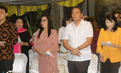 BERITA FOTO: Syukuran HUT ke-52 Wali Kota Tomohon