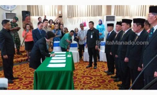 Lima Anggota DPRD kota Manado Jalani PAW, Ini Daftarnya