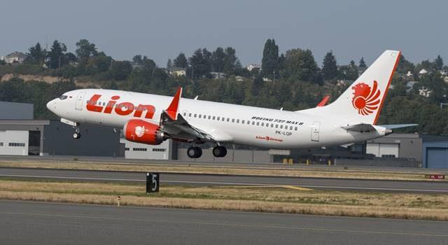 Boeing 737 Max 8 milik maskapai penerbangan Lion Air