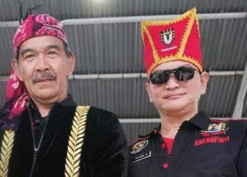 Tonaas Wangko Lendy Wangke dan Tonaas DPD Minut Roland Maringka.