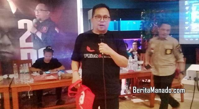 Richard Sualang membagikan door price