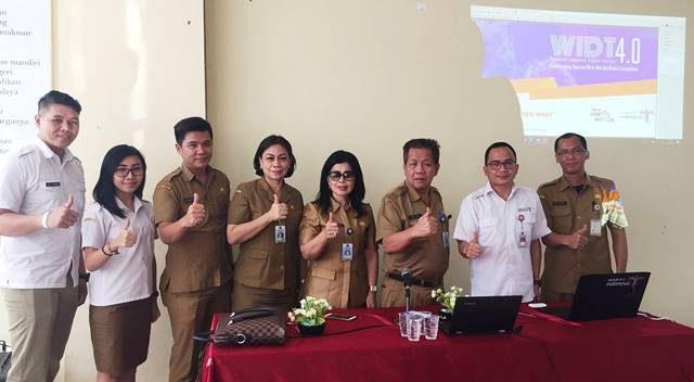 Tim Digital Dispar Sulut. Tim akan bersinergi bersama 15 DIspar Kab/Kota dan Asosiasi Pariwisata se-Sulut.