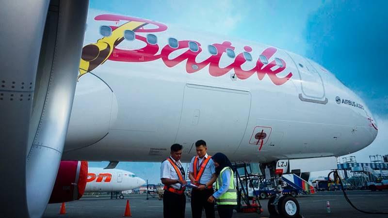 Airbus A320 milik Batik Air