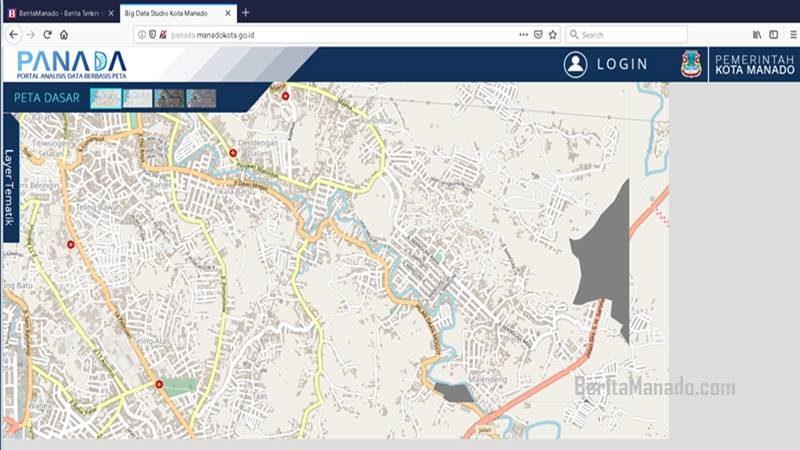 Aplikasi Portal Analisis berbasis Data - Panada