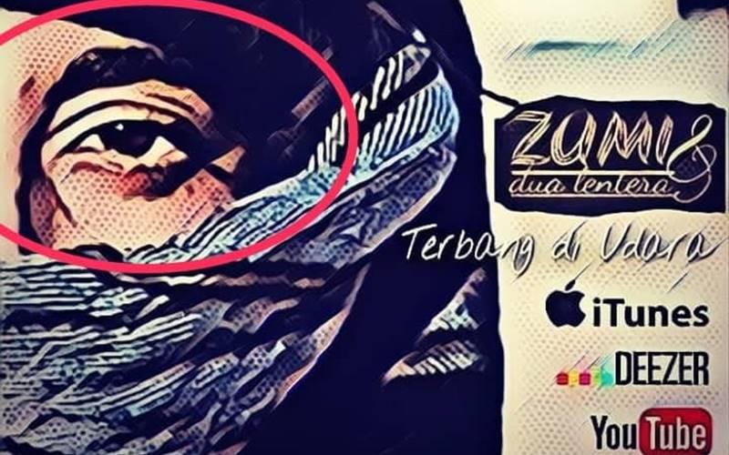 Postingan instagram band indie asal kotamobagu, yakni Zumi & Dua Lentera