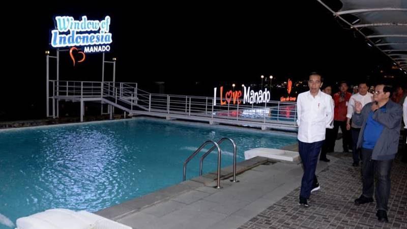 Blusukan di Jendela Indonesia Manado, Presiden Jokowi Lihat Potensi Besar Pariwisata Sulawesi Utara