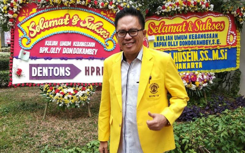 Ketua Umum Ikatan Alumni Universitas Indonesia (ILUNI UI) Pasca Sarjana, Dr Audrey Tangkudung, MSi