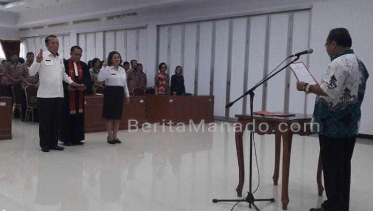 Jeffry Korengkeng Lantik Pejabat Pimpinan Tinggi Pratama ...