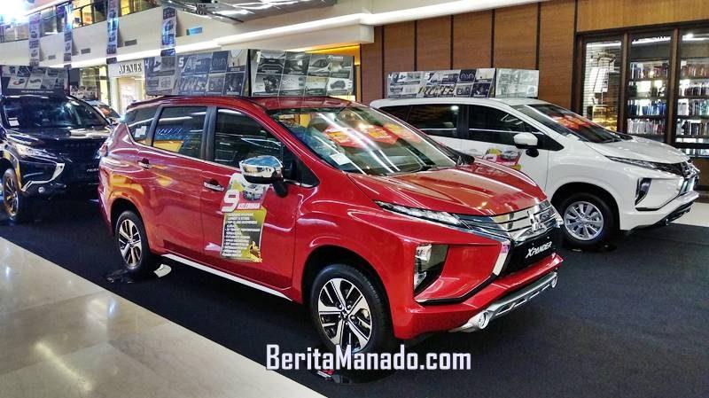 Mitsubishi Xpander yang dipamerkan dalam Mitsubishi Motors Auto Show yang dilaksanakan pada tanggal 19-22 September 2019 di Manado Town Square (Mantos)