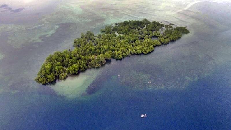 Pulau Napomanu Sarawet di Likupang