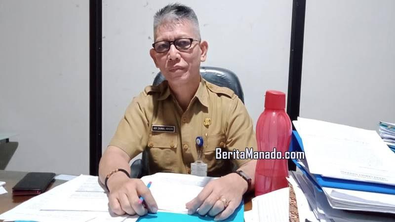 Sekretaris Inspektorat Manado Adi Zainal Abidin