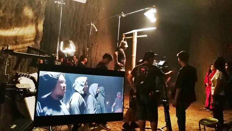 Suasana Set Syuting Film Mariara The Movie Produksi Gorango Picture