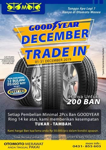 Goodyear Desember Trade In Di Otomoto Autocare Wanea Ban Bekas Kondisi Apapun Dihargai Rp50 Ribu Beritamanado Com Berita Terkini Manado Sulawesi Utara