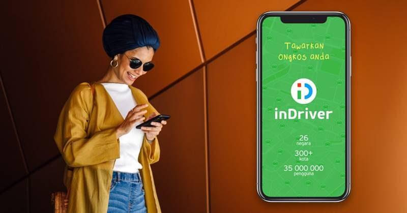 inDriver sebuah aplikasi transportasi online