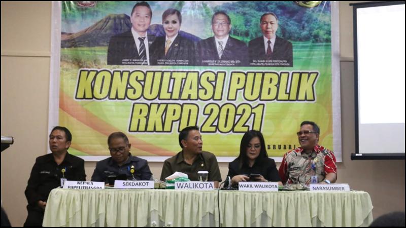 Tema Pembangunan Tomohon 2021 Terungkap Saat Konsultasi ...