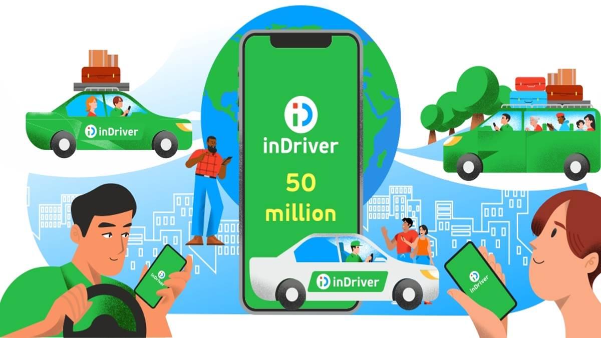 inDriver 50 million illustration
