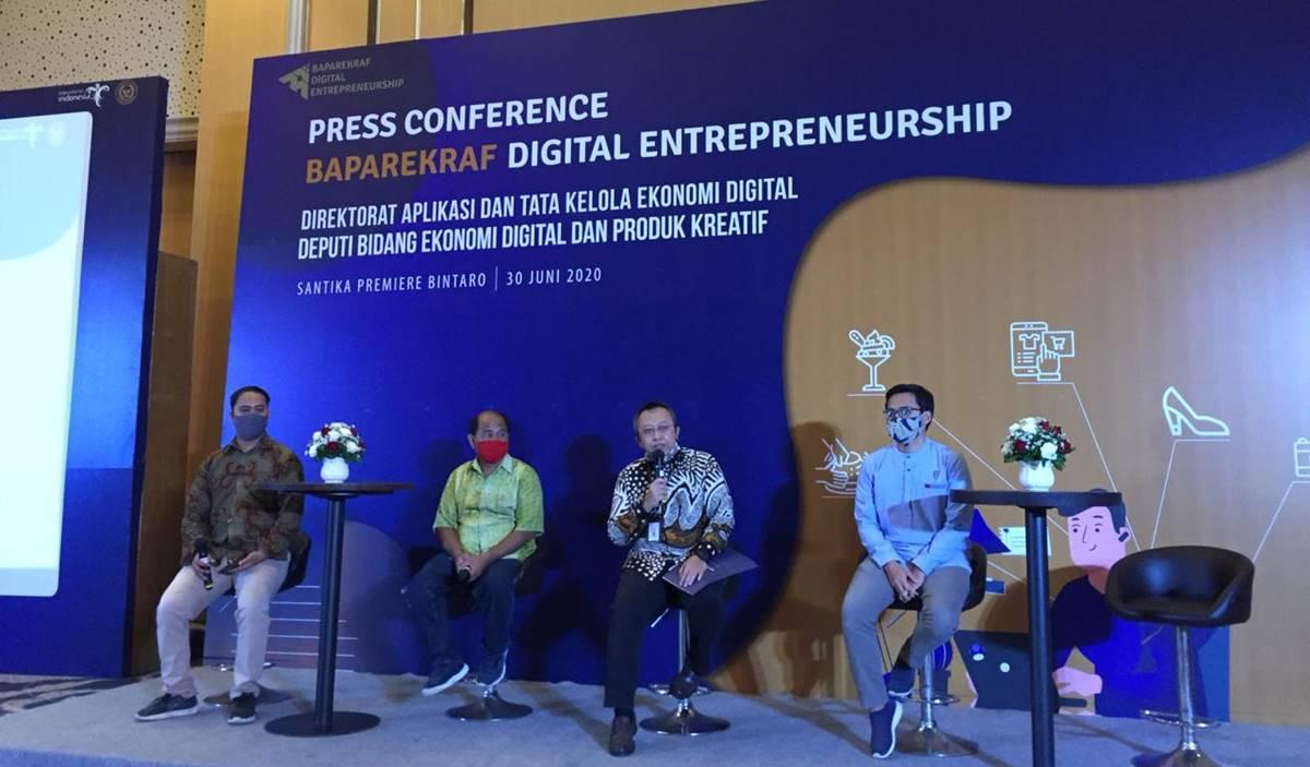 Press Conference Baparekraf Digital Entrepreneurship