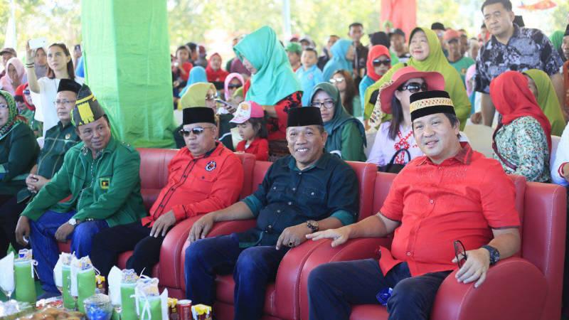 Ketua DPW PPP Sulut Depri Pontoh saat memdampingi Wagub Sulut beberapa waktu lalu. (Foto: ist)