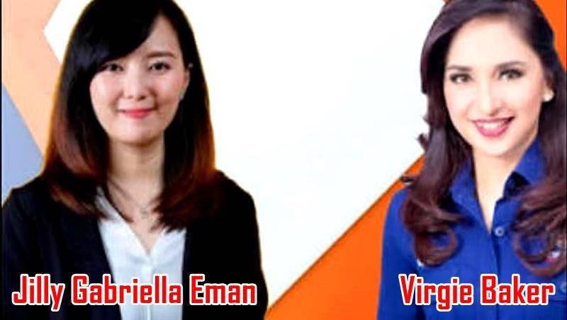 Jilly Gabriella Eman dan Virgie Baker (foto IST)