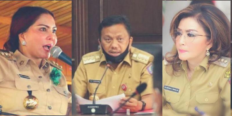 Tiga Bakal Calon Gubernur Sulut dalam Pemilihan Serentak 2020