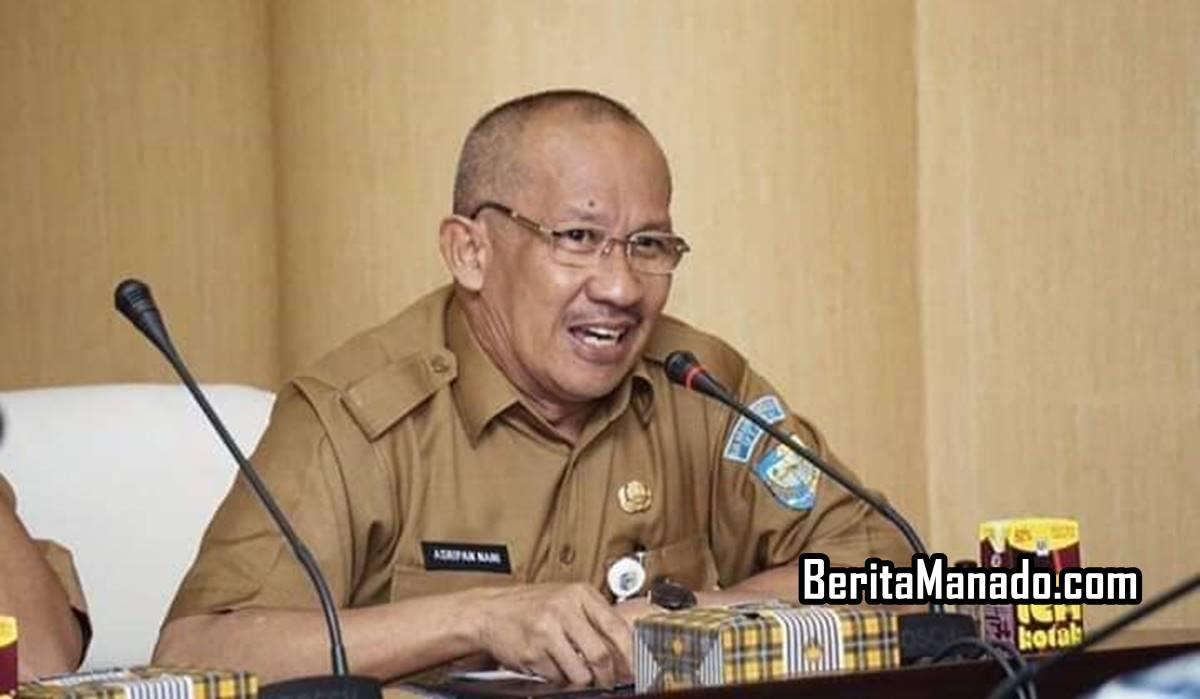 Sekda Bolmut Drs. Asripan Nani, M.Si