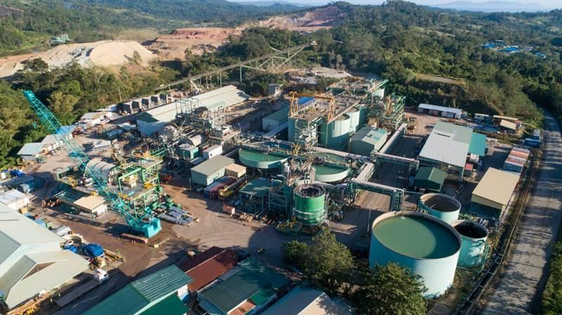 Pabrik Pengolahan Emas Toka Tindung milik Archi Indonesia, Sulawesi Utara - Archi Indonesia's Toka Tindung Gold Processing Plant, North Sulawesi (foto IST)