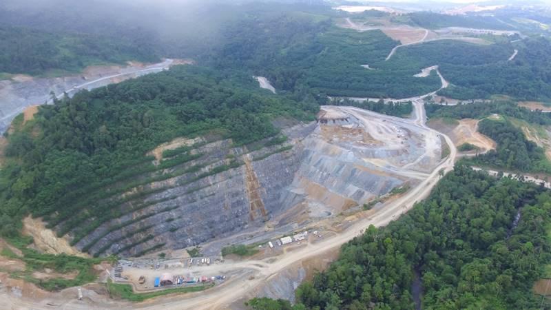 Tambang Emas Toka Tindung milik Archi Indonesia, Sulawesi Utara - Archi Indonesia's Toka Tindung Gold Mine, North Sulawesi (foto IST)