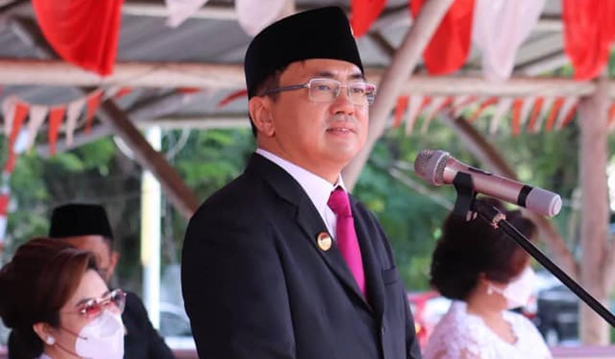 Wali kota Manado, Andrei Angouw, Rabu (14/7/2021). Foto IST.